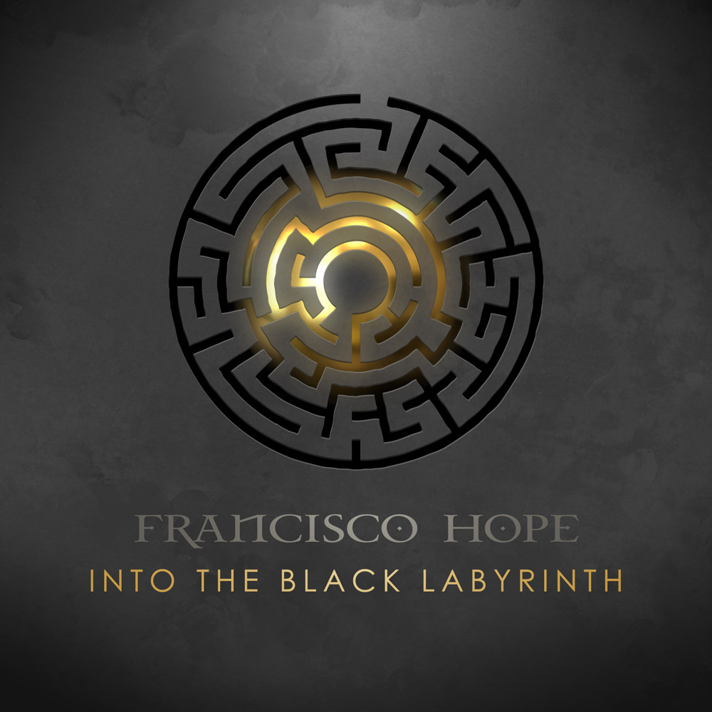Francisco Hope Into the Black Labyrinth single cover 2021